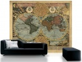 WORLD MAP - Civilization never takes a rest Fototapete, Poster