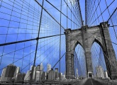 BROOKLYN BRIDGE - From here to eternity Fototapete, Poster